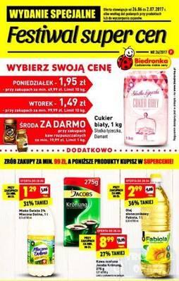 Gazetka promocyjna Biedronka - od 26/06/2017 do 02/07/2017