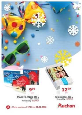 Gazetka promocyjna Auchan - od 17/01/2018 do 25/01/2018