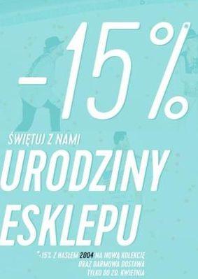 -15% urodziny