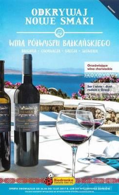 Wina półwyspu bałkańskiego