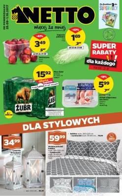 Gazetka promocyjna Netto - od 25/09/2017 do 01/10/2017