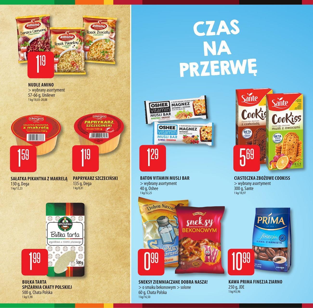 Gazetka promocyjna Chata Polska do 29/08/2018 str.4