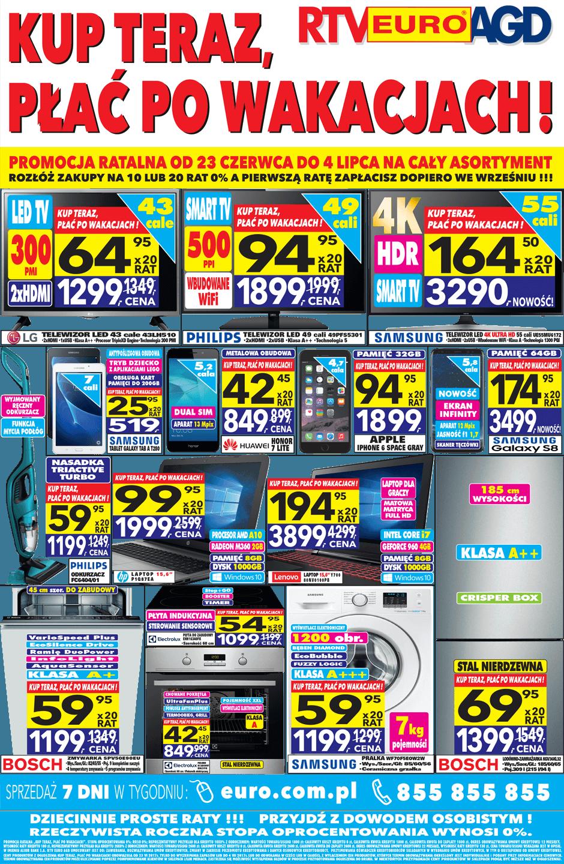 Gazetka promocyjna RTV Euro AGD do 04/08/2017 str.0
