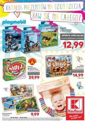 Katalog prezentów na dzień dziecka