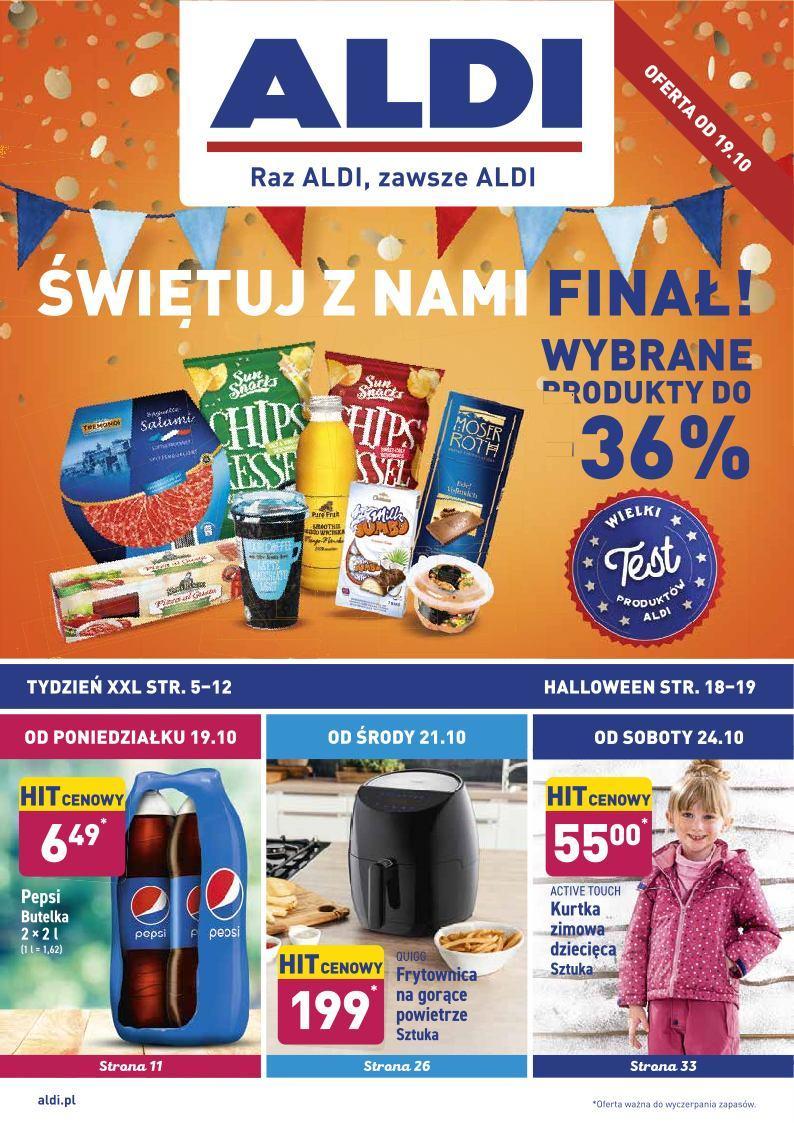 Gazetka promocyjna ALDI do 24/10/2020 str.0