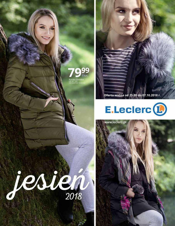 Gazetka promocyjna E.Leclerc do 07/10/2018 str.0