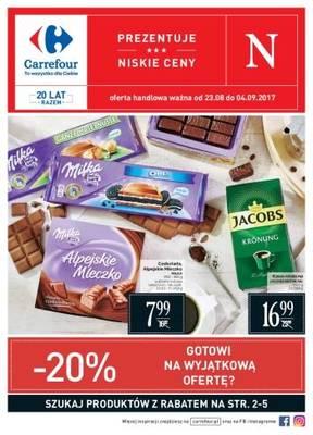 Gazetka promocyjna Carrefour - od 23/08/2017 do 04/09/2017