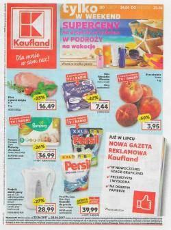 Gazetka promocyjna Kaufland - od 22/06/2017 do 28/06/2017