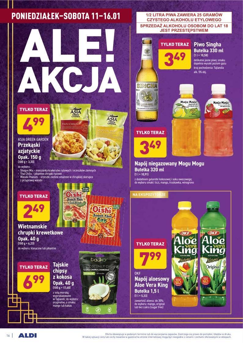 Gazetka promocyjna ALDI do 16/01/2021 str.16