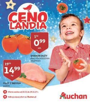 Gazetka promocyjna Auchan - od 23/11/2017 do 29/11/2017