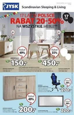 Rabat od 20-50% na wszystkie meble