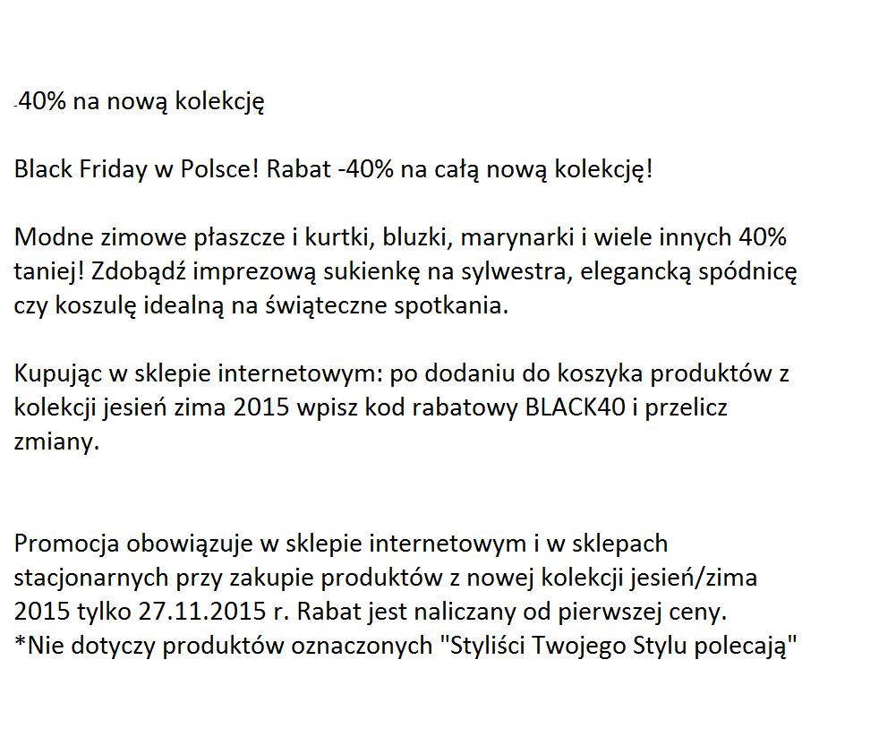 Gazetka promocyjna TOP SECRET do 27/11/2015 str.2