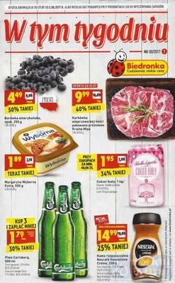Gazetka promocyjna Biedronka - od 27/07/2017 do 02/08/2017