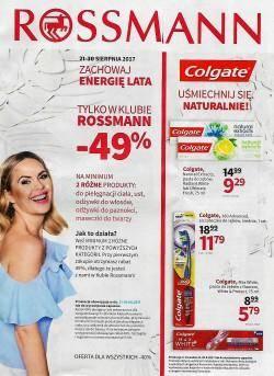 Gazetka promocyjna Rossmann - od 21/08/2017 do 30/08/2017