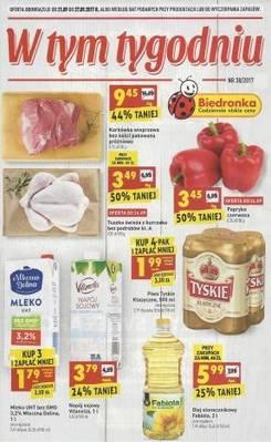 Gazetka promocyjna Biedronka - od 21/09/2017 do 27/09/2017