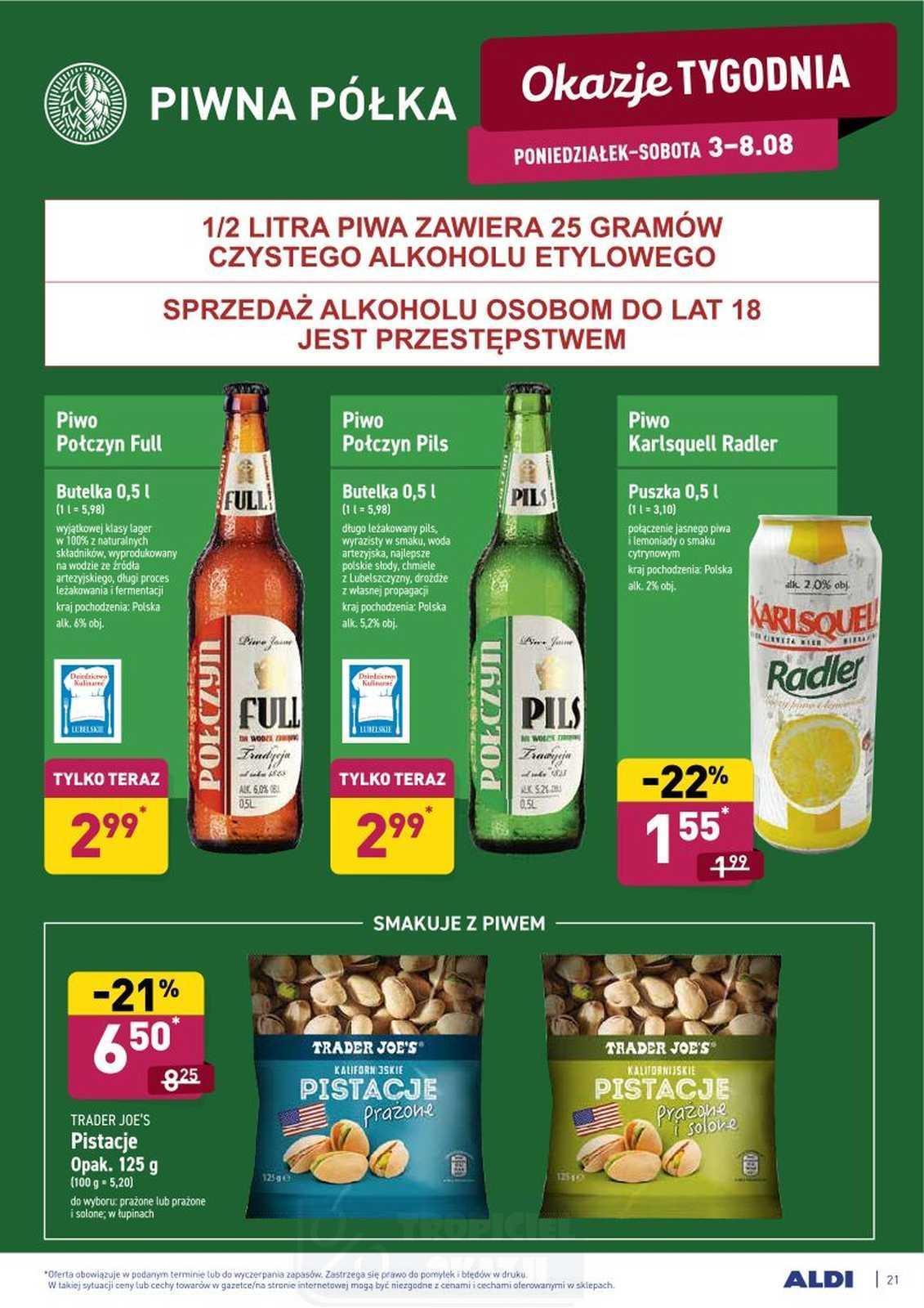 Gazetka promocyjna ALDI do 08/08/2020 str.20