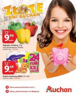 Gazetka promocyjna Auchan - od 28/09/2017 do 04/10/2017