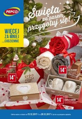 Gazetka promocyjna Pepco - od 15/12/2017 do 28/12/2017