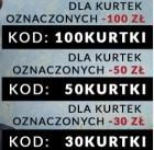 do -100 zł na kurtki