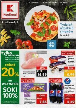 Gazetka promocyjna Kaufland - od 17/08/2017 do 23/08/2017