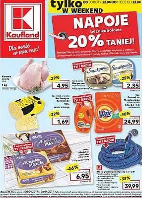 Gazetka promocyjna Kaufland - od 20/04/2017 do 26/04/2017