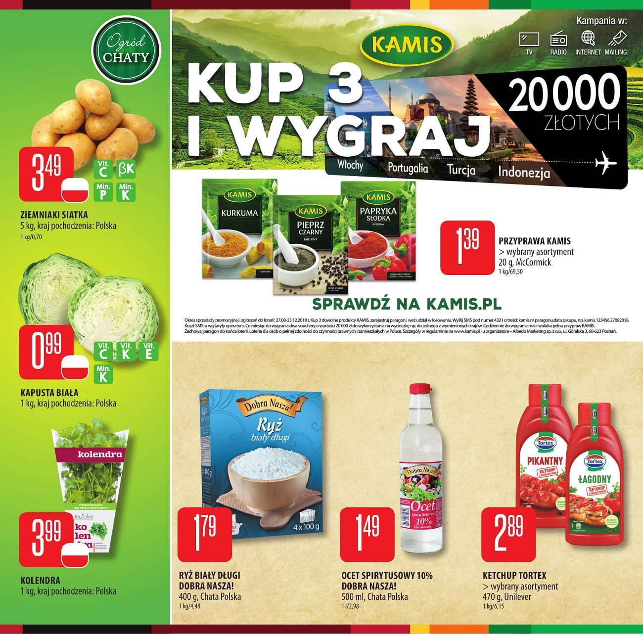 Gazetka promocyjna Chata Polska do 29/08/2018 str.3