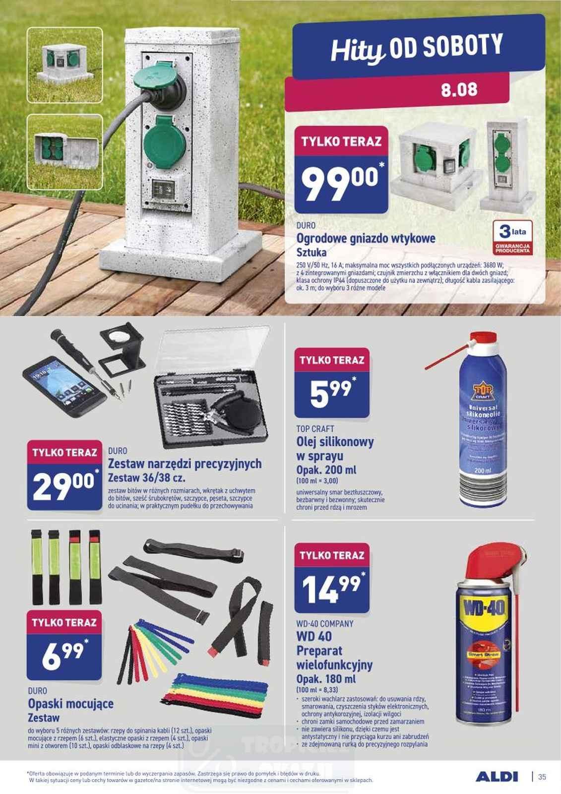 Gazetka promocyjna ALDI do 08/08/2020 str.34