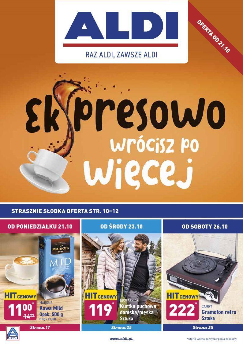 Gazetka promocyjna ALDI do 27/10/2019 str.1