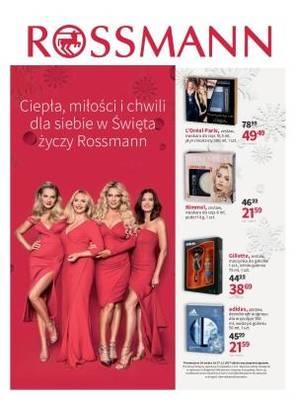 Gazetka promocyjna Rossmann - od 18/12/2017 do 27/12/2017