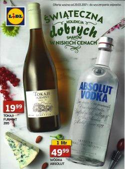 Lidl gazetka alkoholowa