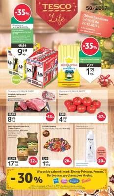 Gazetka promocyjna Tesco - od 14/12/2017 do 24/12/2017