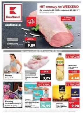 Gazetka promocyjna Kaufland - od 24/08/2017 do 30/08/2017
