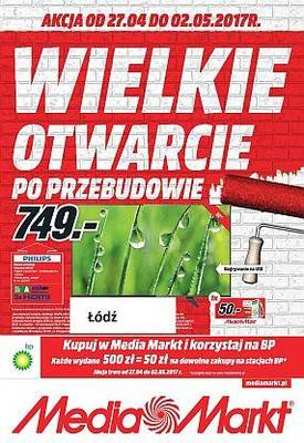 Gazetka promocyjna Media Markt - od 27/04/2017 do 02/05/2017