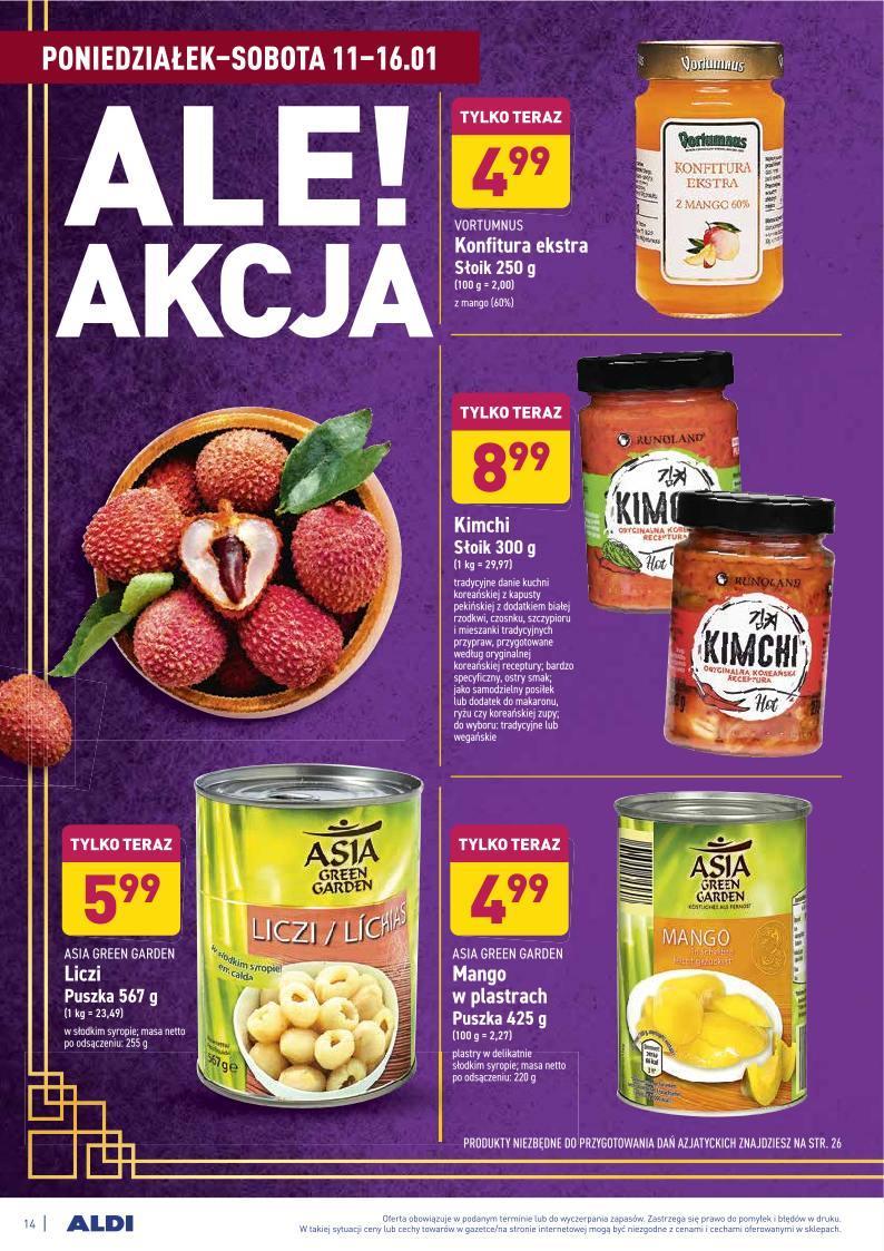 Gazetka promocyjna ALDI do 16/01/2021 str.14