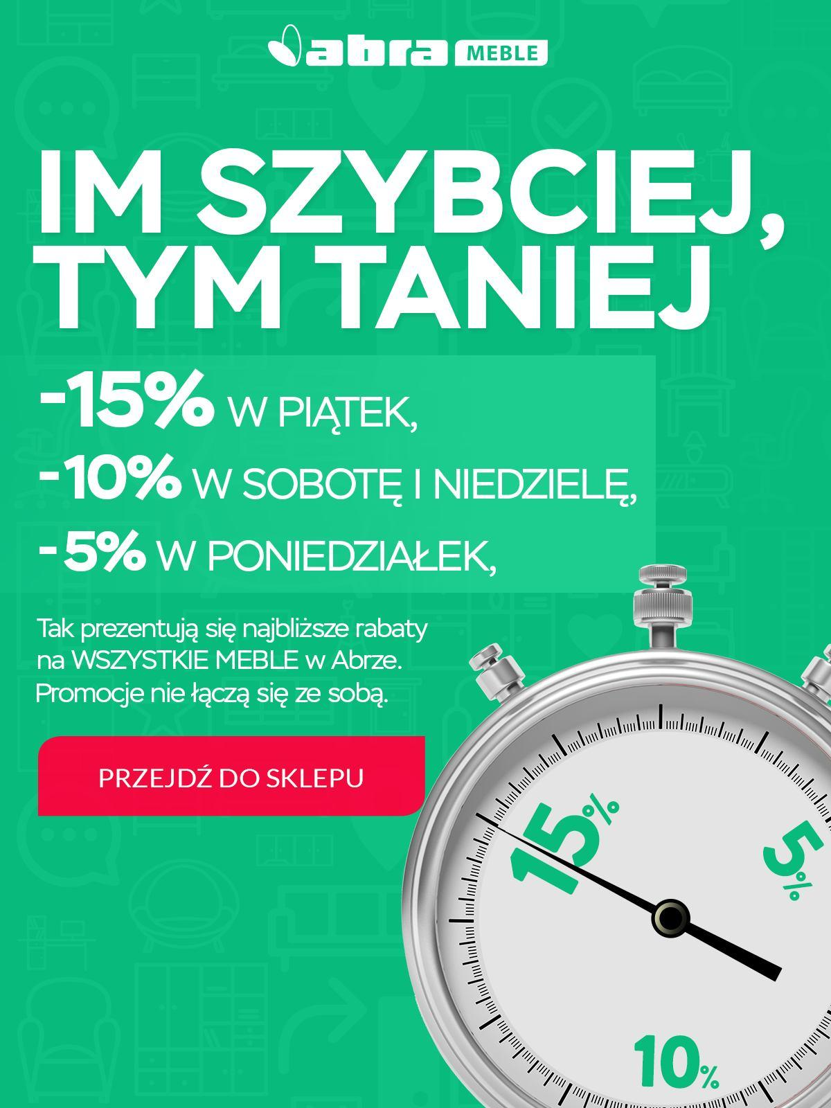 Gazetka promocyjna Abra Meble do 24/09/2018 str.0