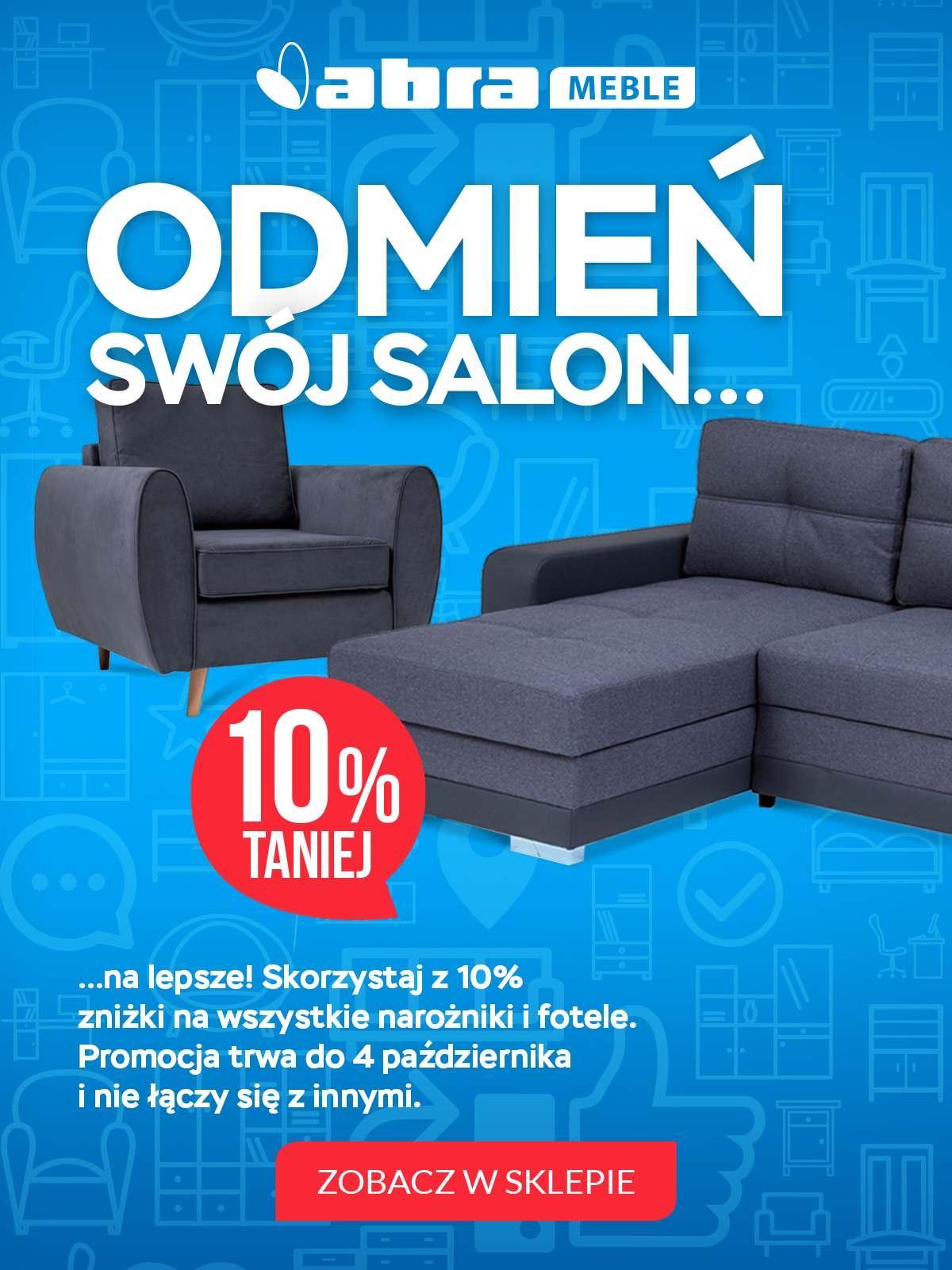 Gazetka promocyjna Abra Meble do 04/10/2018 str.0