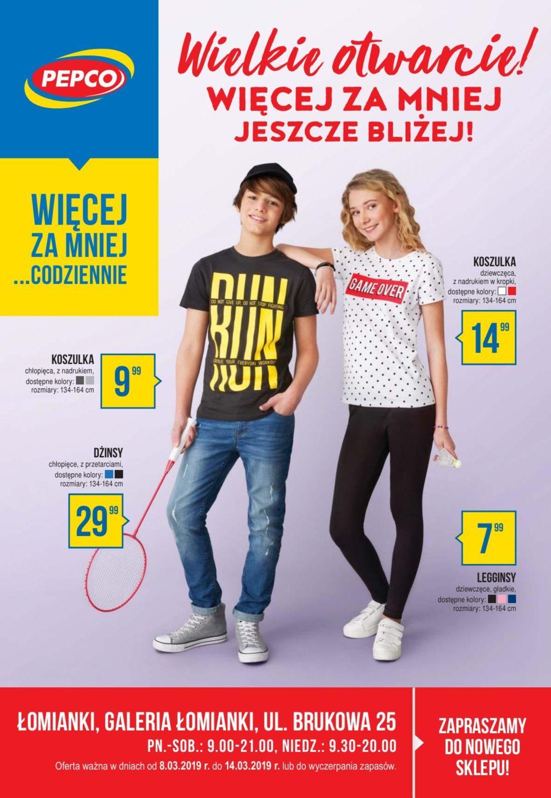Gazetka promocyjna Pepco do 14/03/2019 str.0