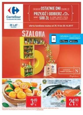 Gazetka promocyjna Carrefour - od 25/10/2017 do 30/10/2017