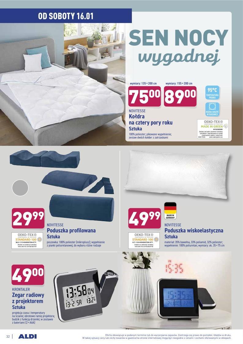 Gazetka promocyjna ALDI do 16/01/2021 str.32