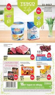 Gazetka promocyjna Tesco - od 30/03/2017 do 05/04/2017
