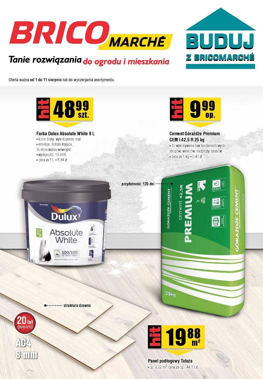 Gazetka promocyjna Bricomarche do 11/08/2018 str.1