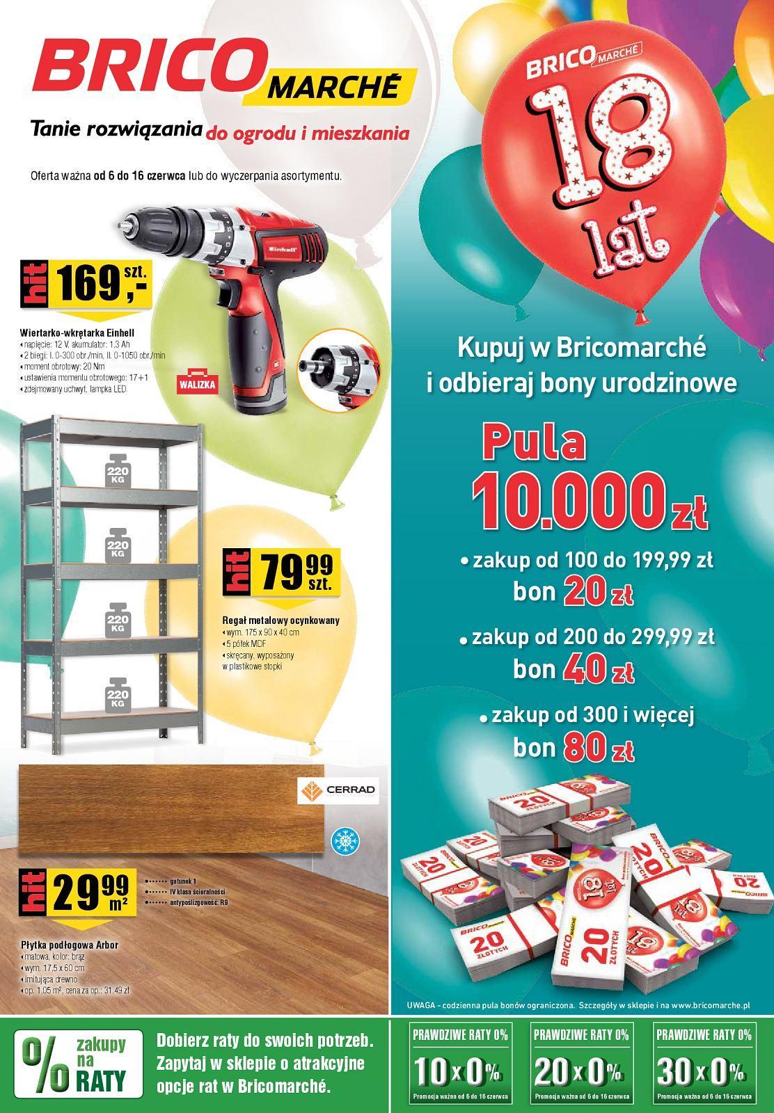 Gazetka promocyjna Bricomarche do 16/06/2018 str.0