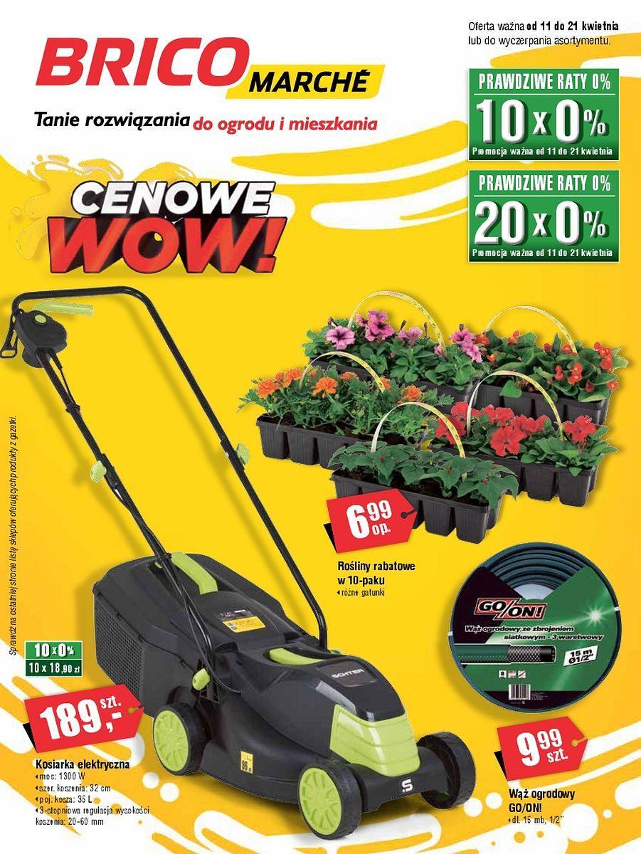 Gazetka promocyjna Bricomarche do 21/04/2018 str.0