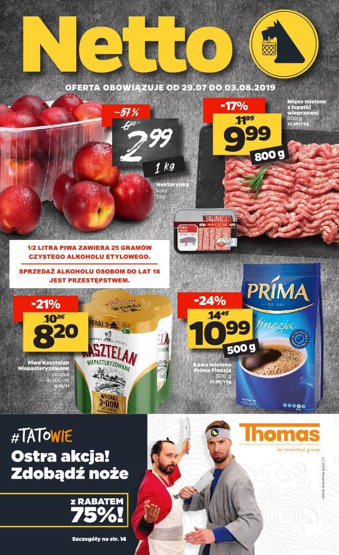 Gazetka promocyjna Netto do 03/08/2019 str.0