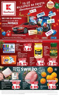 Kaufland gazetka - od 03/12/2020 do 09/12/2020