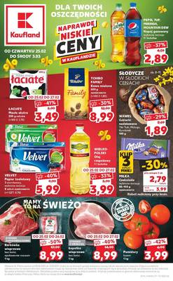 Kaufland gazetka  - od 25/02/2021 do 03/03/2021