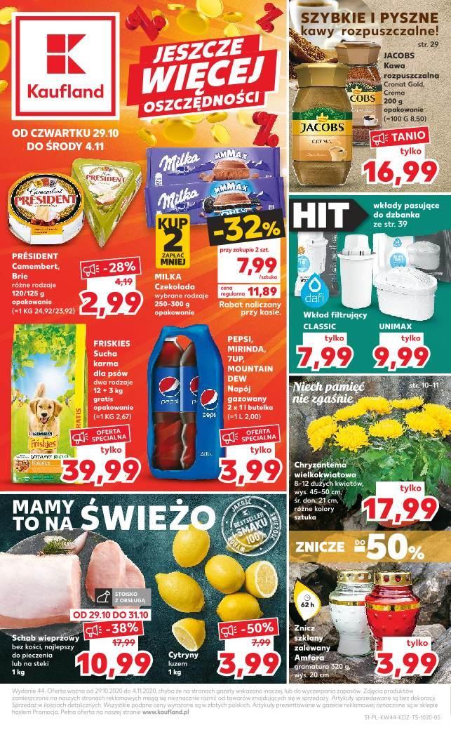Gazetka promocyjna Kaufland do 04/11/2020 str.1