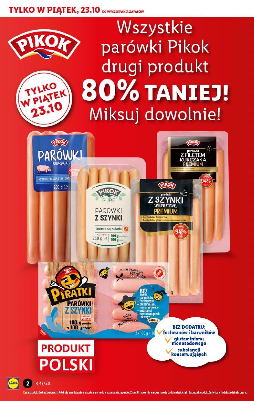 Gazetka promocyjna Lidl do 24/10/2020 str.2