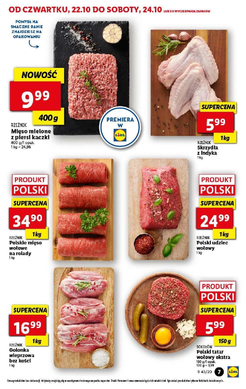 Gazetka promocyjna Lidl do 24/10/2020 str.7
