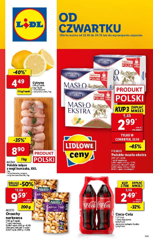 Gazetka promocyjna Lidl do 24/10/2020 str.1